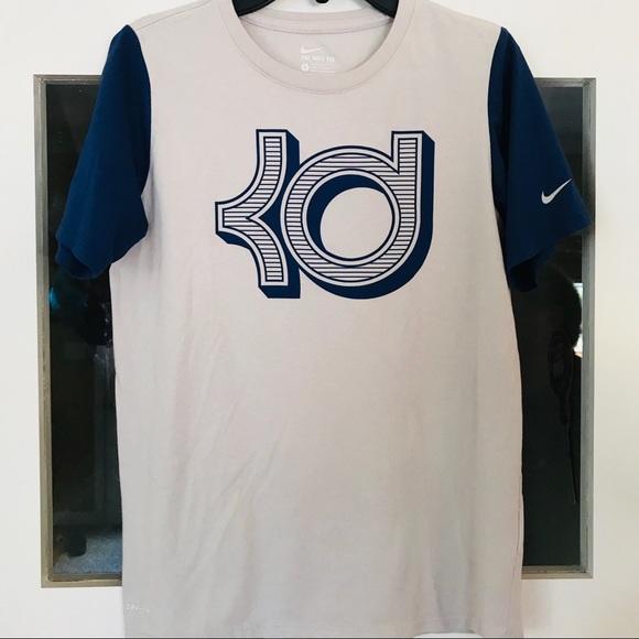 64e5ccf9 Nike Shirts & Tops | Like New Boys Kd Dri Fit Tshirt Sz L | Poshmark